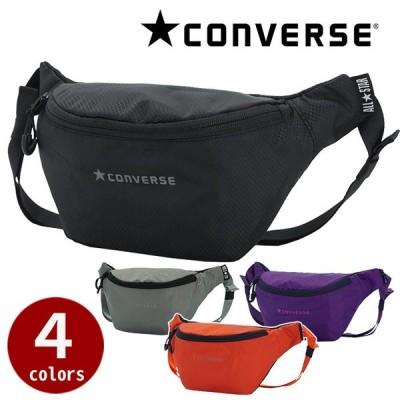 コンバース CONVERSE ウエストバッグ CV リップストップナイロン ロゴ ウエストバッグ バッグ かばん メンズ おしゃれ セール