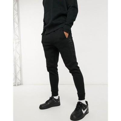 ニッチェ ロンドン Nicce メンズ ジョガーパンツ ボトムス・パンツ Mercury Joggers In Black ブラック