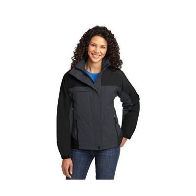 Port Authority Women's Nootka Jacket 4XL Graphite/Black並行輸入品 送料無料