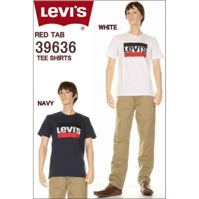 Levi's 39636 Tee Shirts リーバイス Tシャツ CREW T-SHIRT BOX LOGO ボックスロゴ トレードマーク クルーネック Tシャツ