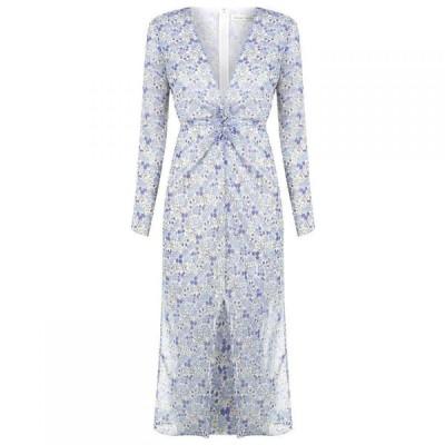 イーストオーダー The East Order レディース ワンピース ミドル丈 ワンピース・ドレス EO Serena Midi Dress AMAZON AZURE