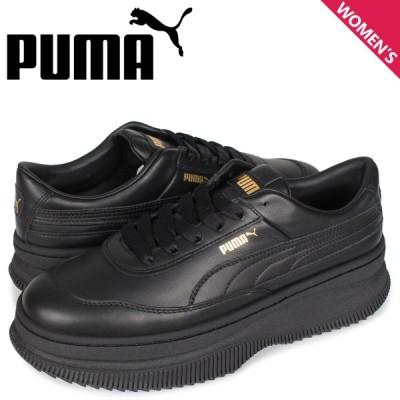プーマ PUMA デバ スニーカー レディース 厚底 DEVA ブラック 黒 37119901