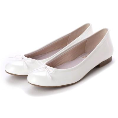 【レイン対応】ラウナレアバレエ Launa lea ballet ラウンドトゥバレエシューズ゛(RB1001) (ホワイト)