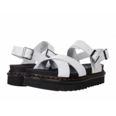Dr. Martens ドクターマーチン レディース 女性用 シューズ 靴 サンダル Voss II White【送料無料】