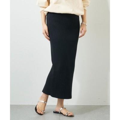 スカート リブタイトスカート