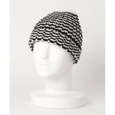 ZOZOUSED / ボーダー柄ニットキャップ WOMEN 帽子 > ニットキャップ/ビーニー