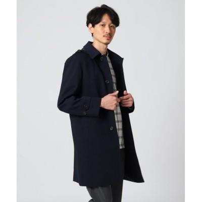 【タケオキクチ】 メランジヘリンボンコート メンズ ネイビー 04(LL) TAKEO KIKUCHI