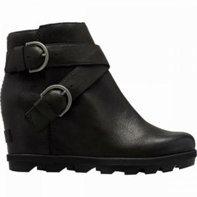 ソレル Sorel レディース ブーツ ウェッジソール シューズ・靴 Joan Of Arctic Wedge II Buckle Boot Black