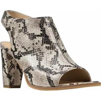 クラークス レディース サンダル シューズ Women's Clarks Kaylin85 Heeled Slingback Sandal Grey Snake Leather