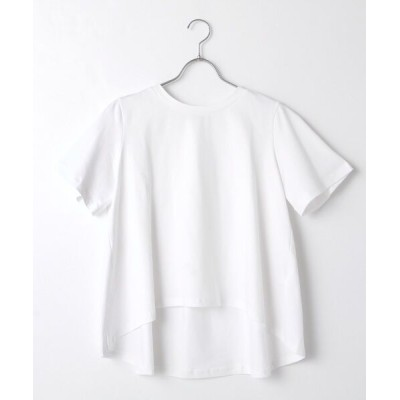 MARcourt/マーコート mizuiro ind クルーネックフレアT off white FREE