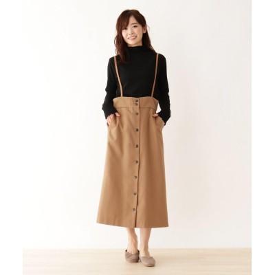 SHOO・LA・RUE/DRESKIP(シューラルー/ドレスキップ) サス付きミディー丈スカート