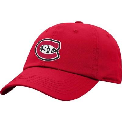 トップオブザワールド Top of the World メンズ キャップ 帽子 St. Cloud State Huskies Spirit Red Crew Washed Cotton Adjustable Hat