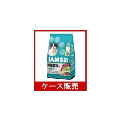 (ケース販売) 「IC223 成猫用 体重管理用 チキン 1.5kg」 6個の詰合せ