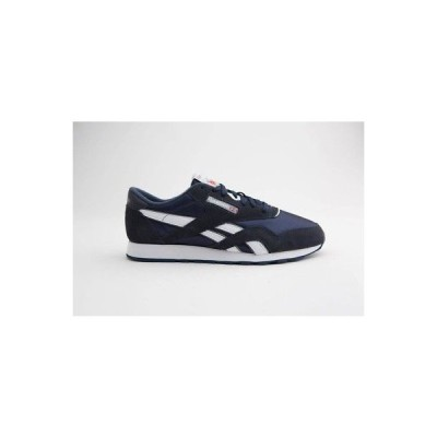 スニーカー メンズ リーボック Reebok Men Classic Nylon navy team navy platinum 39749