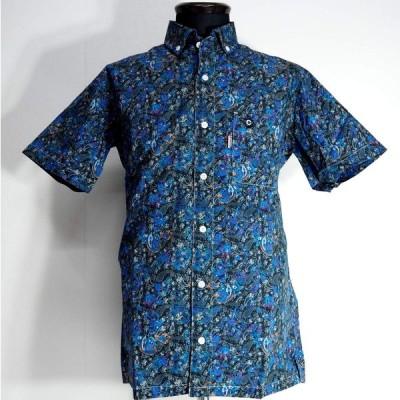 CAPRI カプリ ボタンダウンシャツ 半袖 綿(コットン) M/L/LL メンズ ファッション 服 カジュアル 春夏