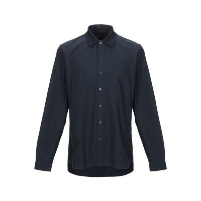フレッドペリー FRED PERRY シャツ ダークブルー S コットン 100% シャツ