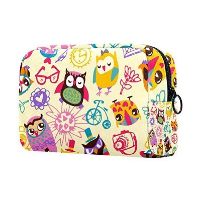 Makeup Bag Organizer Small Cosmetic?Bags?for?Women Travel Toiletry Bag Makeup Case Purse Handbag Owl