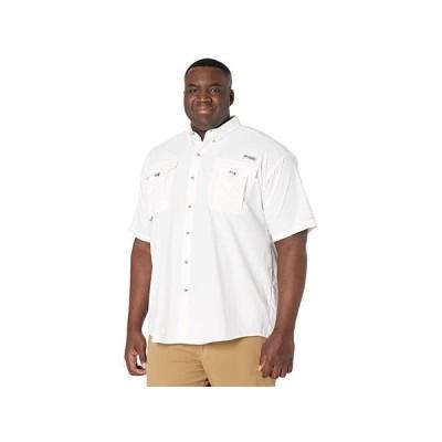 コロンビア Big & Tall Bahama II Short Sleeve Shirt メンズ シャツ トップス White