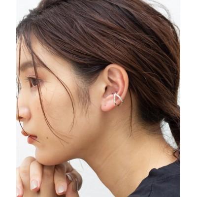 GP(SV925)/SV925 片耳ダブルクロスラインイヤーカフ&リング