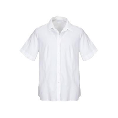 ZANETTI 1965 シャツ ホワイト 50 コットン 95% / ポリウレタン 5% シャツ
