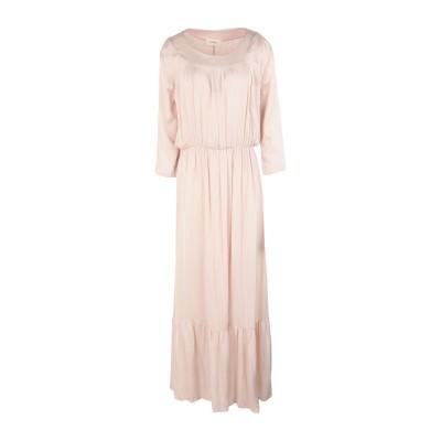 VICOLO ロングワンピース&ドレス ライトピンク one size レーヨン 100% ロングワンピース&ドレス