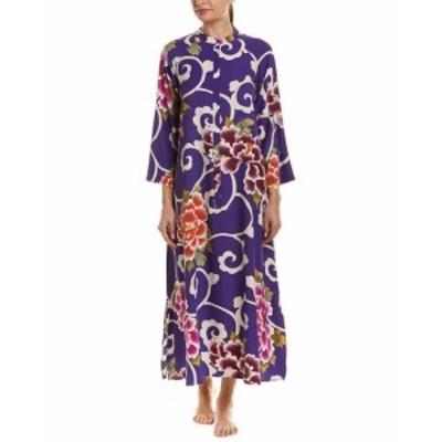Natori ナトリ ファッション ドレス Natori Samarkand Caftan Xs Purple