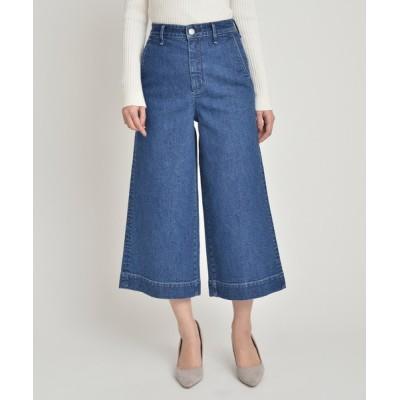 Divinique / YANUK キュロット デニム パンツ Culottes Denim Pants/57103318 WOMEN パンツ > デニムパンツ