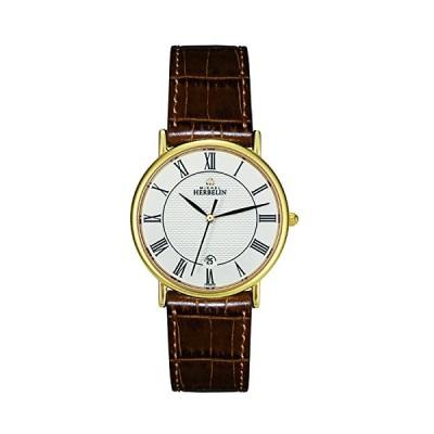 Michel Herbelin 12443-P08GO Mens Classic Watch 並行輸入品