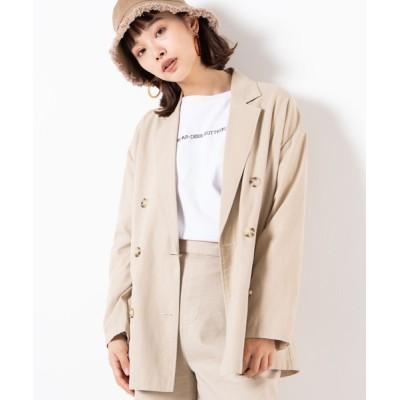WEGO / WEGO/【セットアップ対応商品】リネンブレンドテーラードジャケット WOMEN ジャケット/アウター > テーラードジャケット