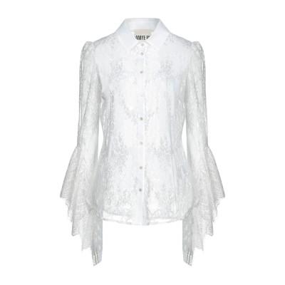 アニヤバイ ANIYE BY シャツ ホワイト L ナイロン 54% / コットン 46% / ポリエステル シャツ