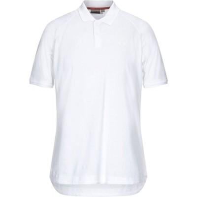 ナパピリ NAPAPIJRI メンズ ポロシャツ トップス Polo Shirt White