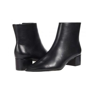 Massimo Matteo マッシオマッテオ レディース 女性用 シューズ 靴 ブーツ アンクル ショートブーツ Side Zip Bootie - Black