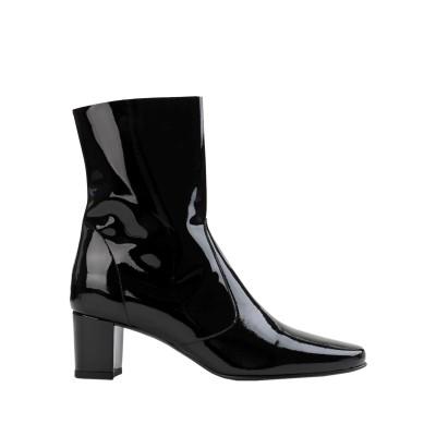 JONAK ショートブーツ ブラック 36 柔らかめの牛革 100% ショートブーツ