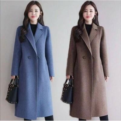 コート ジャケット レディース ロングコート ジャケット 秋 冬 通勤 ロング丈 コート スプリング