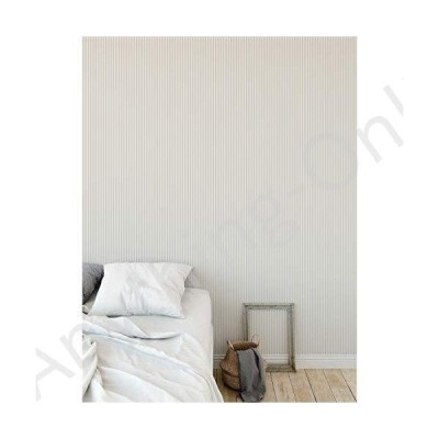 新品 Stripe Tan Peel and Stick Wallpaper - 2' X 16' Tan Stripe Modern Contemporary Paper並行輸入品