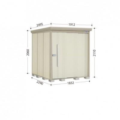 物置 屋外 おしゃれ タクボ物置 ND/ストックマン ND-S1822 多雪型 標準屋根 『追加金額で工事可能』 ムーンホワイト