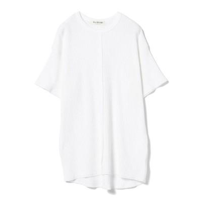 【ビームス アウトレット】 Ray BEAMS / ワッフル ビッグ Tシャツ レディース ホワイト ONESIZE BEAMS OUTLET