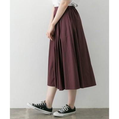 スカート タックギャザースカート∴