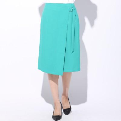 ketty(ケティ)/【洗濯可能】リネコウエーブラップ風タイトスカート