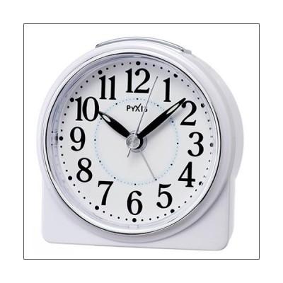 【正規品】セイコー SEIKO クロック NR439W PYXIS ピクシス 目覚まし時計 置時計