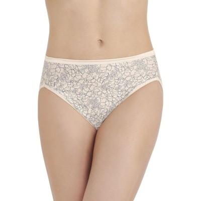 バニティフェア Vanity Fair レディース ショーツのみ インナー・下着 Illumination Hi Cut Panty 13108 Tranquil Lace Print