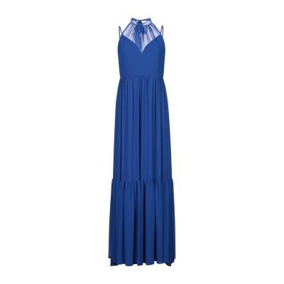ADE' ロングワンピース&ドレス ダークブルー 42 ポリエステル 100% ロングワンピース&ドレス