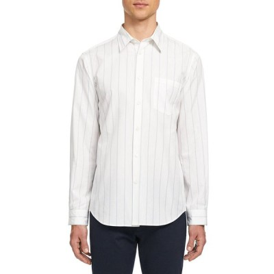 セオリー メンズ シャツ トップス Men's Noll Polmo Striped Sport Shirt