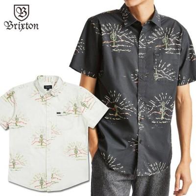 BRIXTON ブリクストン シャツ 半袖シャツ CHARTER PRINT S/S WOVEN ワークシャツ 柄シャツ メンズ ストリート スケボー サーフィン