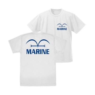 【送料無料対象商品】コスパ ワンピース 海軍 ドライTシャツ WHITE【ネコポス/ゆうパケット対応】