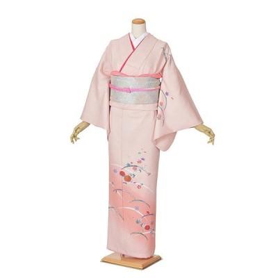 【レンタル】附下 ピンク着物 着物 結婚式 入学式 卒業式 およばれ 式典着物 かわいい着物 ママ着物 お茶会 七五三ママ ピンクグラデーション
