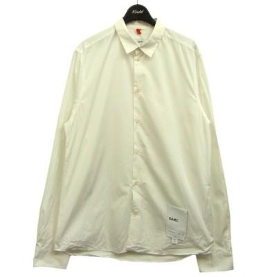 OAMC 裾パッチシャツ ホワイト サイズ:L (渋谷神南店) 210424