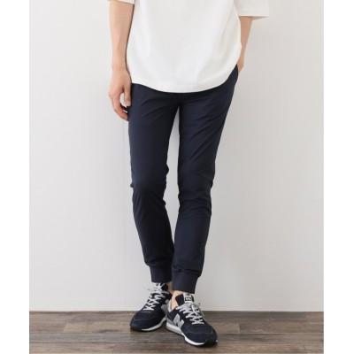【エディフィス】 《追加生産》ストレッチ ジョガーパンツ メンズ ネイビー XL EDIFICE