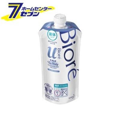 ビオレu ザ ボディ 液体タイプ ピュアリーサボンの香り (つめかえ用) 340ml  花王 kao