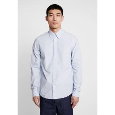 スコッチアンドソーダ メンズ シャツ トップス CRISPY REGULAR FIT BUTTON DOWN COLLAR - Shirt - blue blue